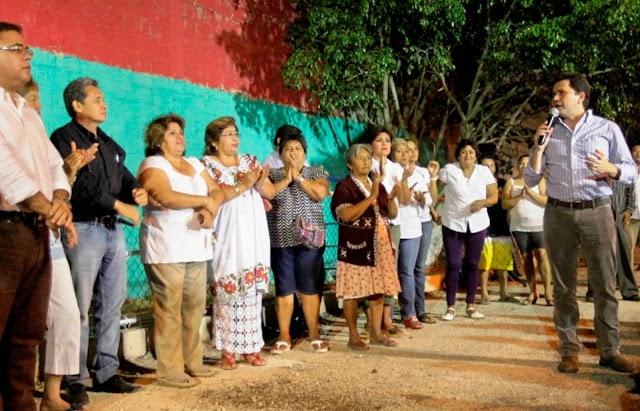Concluye primera etapa de un programa de rescate de espacios públicos