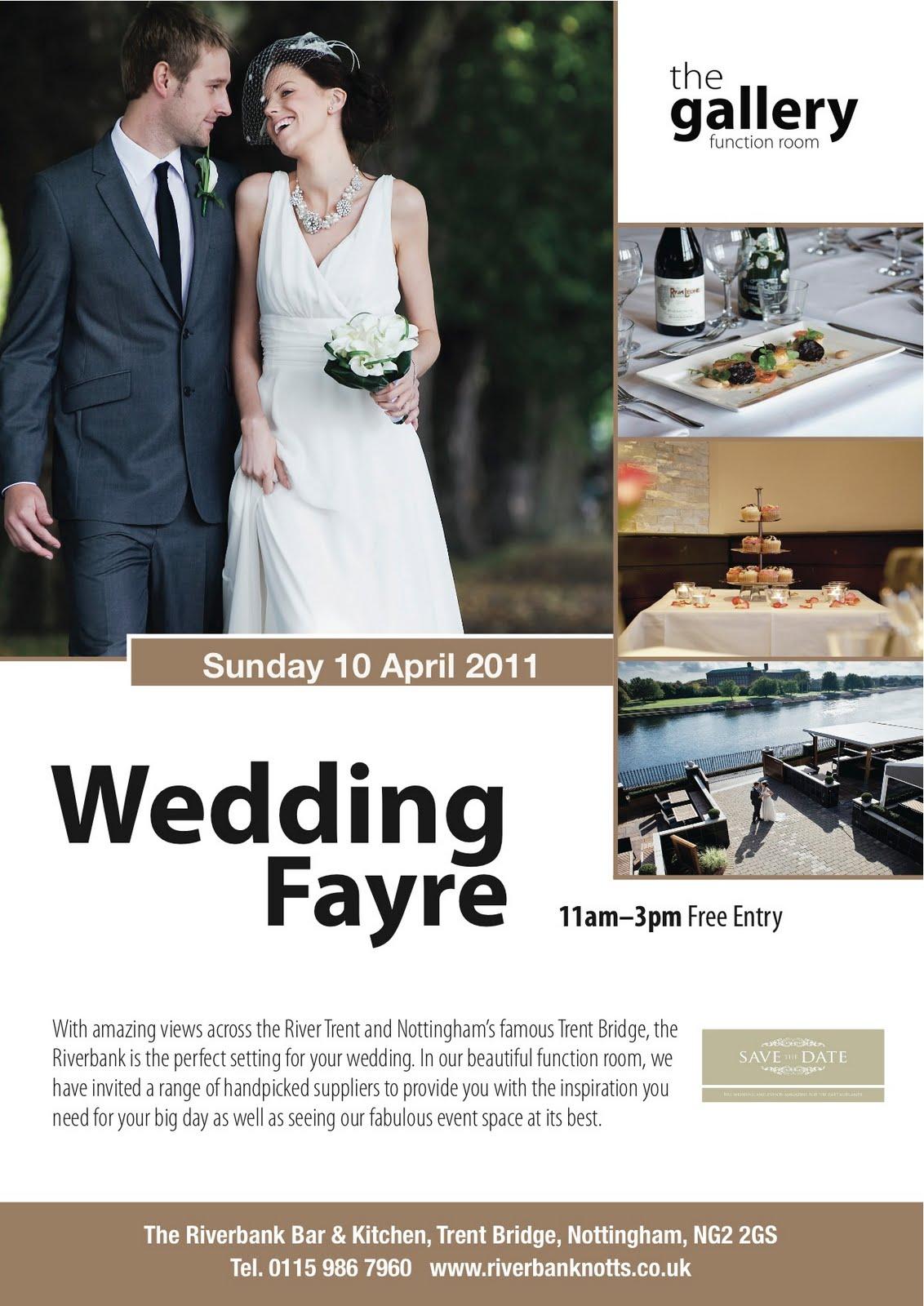 Wedding Fayre at The Riverbank - Hummingbird Card Company Blog