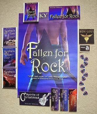 fallen for rock giveaway swag