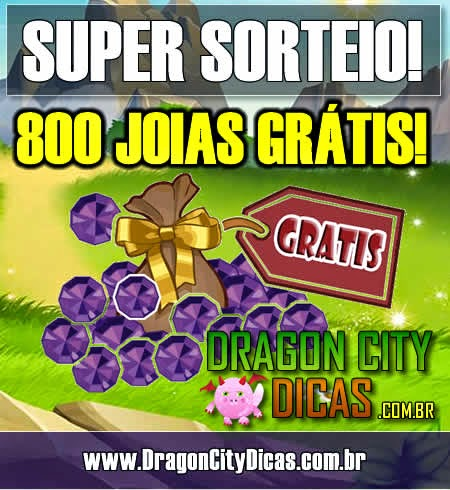 Super Sorteio de 800 Joias Grátis - Fevereiro 2015