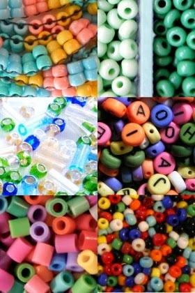 Acrylic beads look good in your craft projects