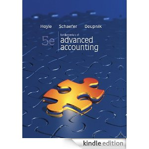 fundamentals of advanced accounting 5th edition solution manual and test bank by hoyle doupnik advanced accounting 10e hoyle solution manual Advanced Accounting McGraw-Hill