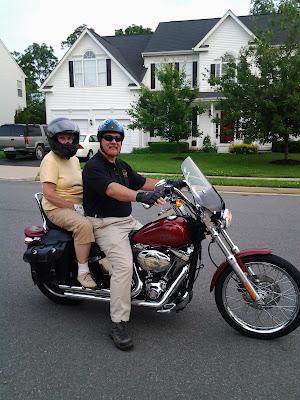 Jeff McGallicher Sue Rice Harley Davidson Softtail