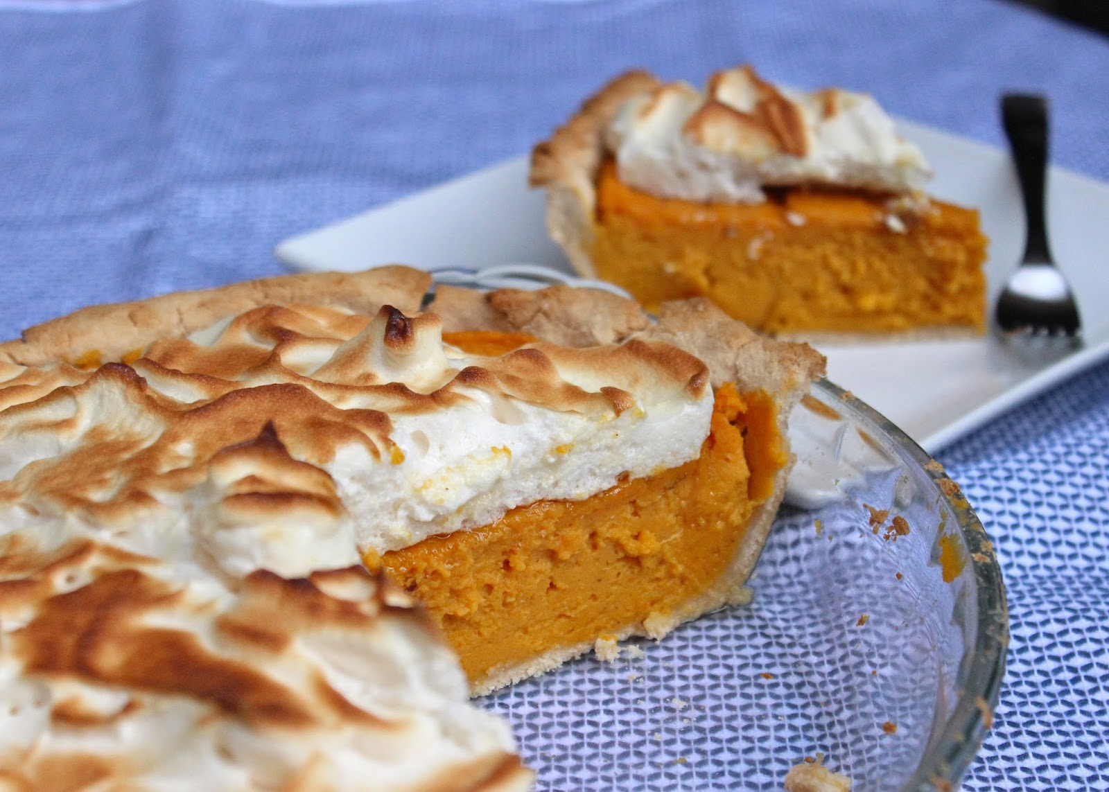 Now that fall is setting in, sweet potato pie just felt like the right ...