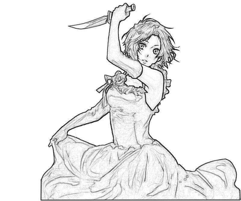 chane-laforet-knife-coloring-pages