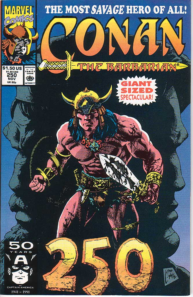 Conan the Barbarian (1970) Issue #250 #262 - English 1