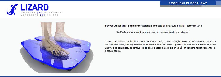 Armando Vinci | Posturometria e Kinesiologia