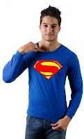 Camiseta Superman Man of Steel