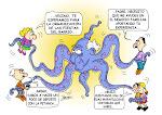 """2ª premio de concurso de viñetas de humor gráfico """"MUCHO POR APO"""