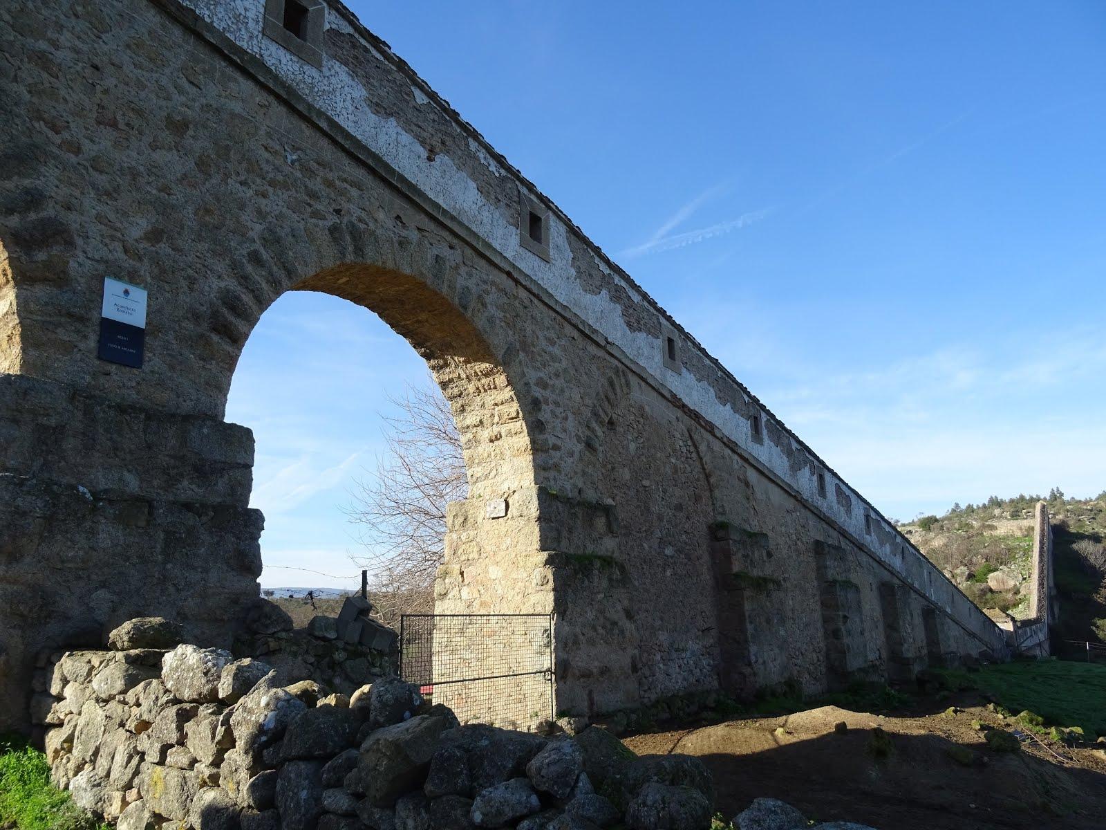 Acueducto romano de Valencia de Alcántara
