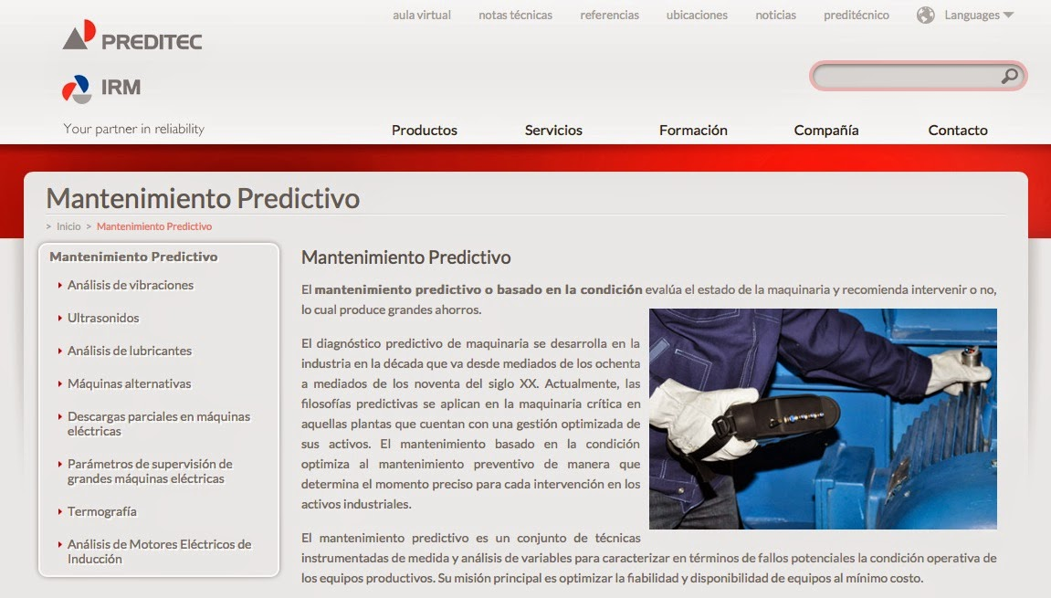 Mantenimiento predictivo
