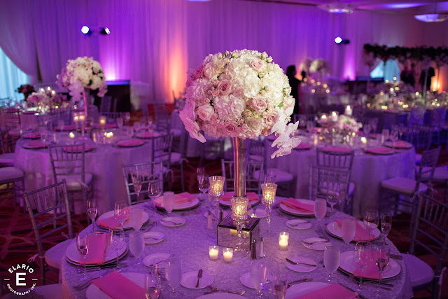 The Sagamore Wedding - Lake George, NY - Flowers - Centerpieces - Reception Decor