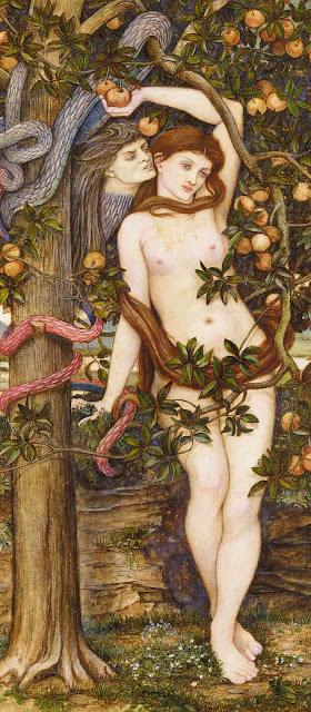 temptation of eve,eve,garden of eden