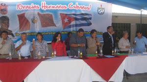 EVENTO DE DESPEDIDA DE LA BRIGADA MEDICA DE CUBA EN CHINCHA - PUEBLO NUEVO