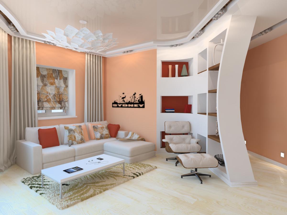 Дизайн квартиры стиле хай тек