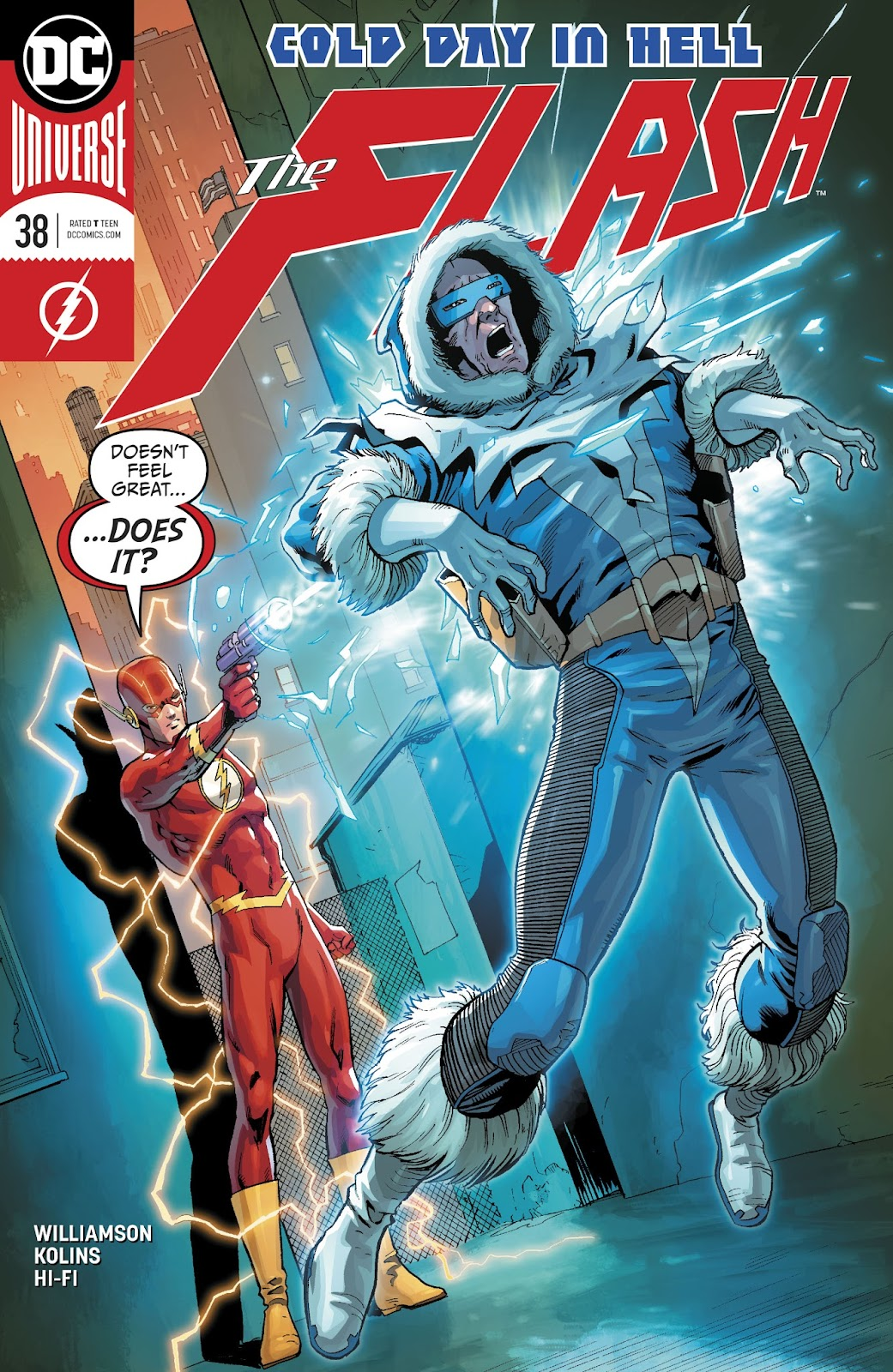 The Flash (2016) issue 38 - Page 1