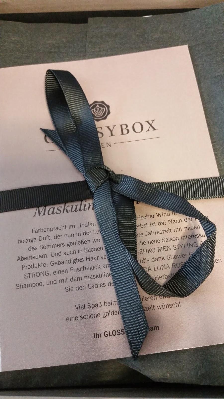 Glossy Box Men - Maskulin in den Herbst - www.annitschkasblog.de