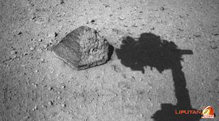 Ada Batu di Mars Mirip Bebatuan Bumi