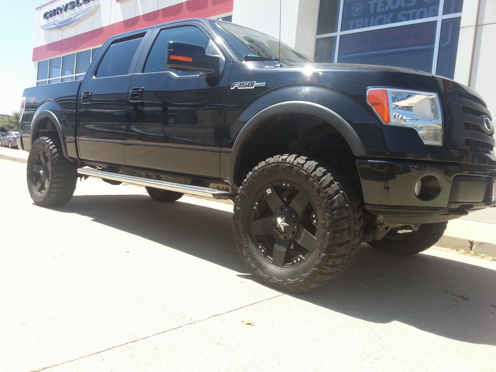 tdy sales 3198800 2010 ford f150 black fx4 lifted truck 55k miles call troy young 817 243 9840