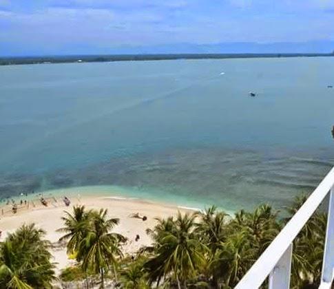Pantai Gandoriah Kota Pariaman Sumbar
