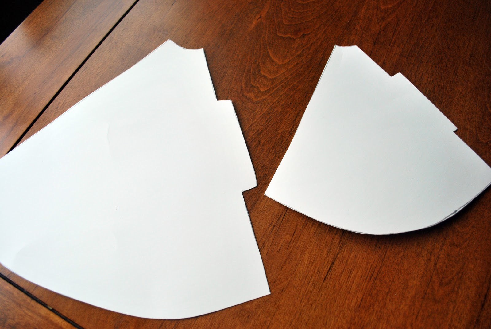 Paper Cone Tree Template Cut all your cones out.