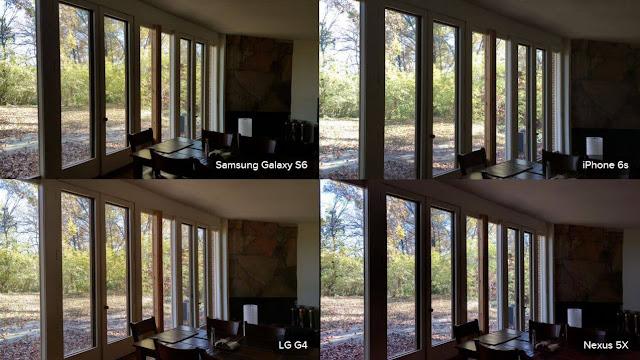 Galaxy S6 Camera, LG G4 Camera, iPhone 6S Camera Inside