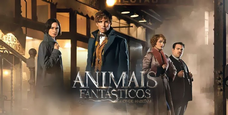 Capa Fantastic Beasts and Where to Find Them 2016