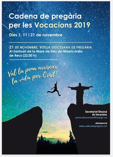 Pregària per les vocacions (21-11-2019) al Santuari