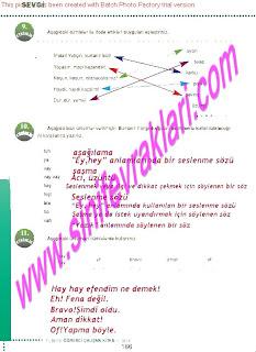 6.Sinif  Turkce Doku Yayinlari Ogrenci Calisma Kitabi Sayfa 166