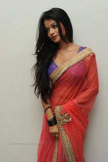 Bhavya Sri  Pictures in half saree 001.jpg