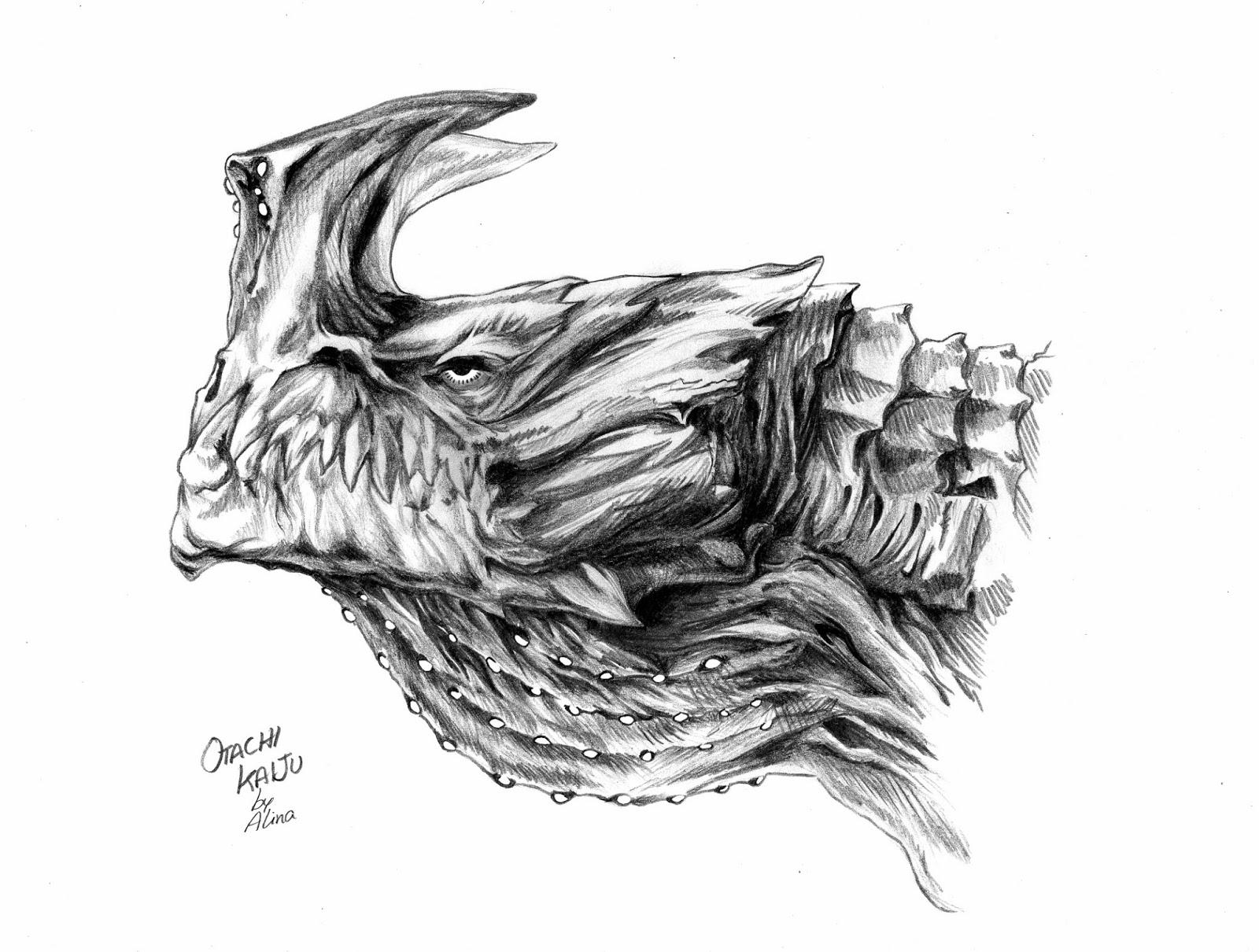 Qu 233 Te Cuentas Ali Dibujo Pacific Rim Otachi Kaiju C Iv