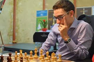 GP Echecs de Paris R10 : Fabiano Caruana (2779) 1-0 Evgeny Tomashevsky (2703) © site officiel