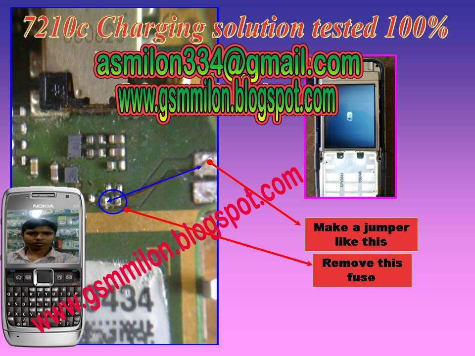 Nokia 7210c Charging Ways