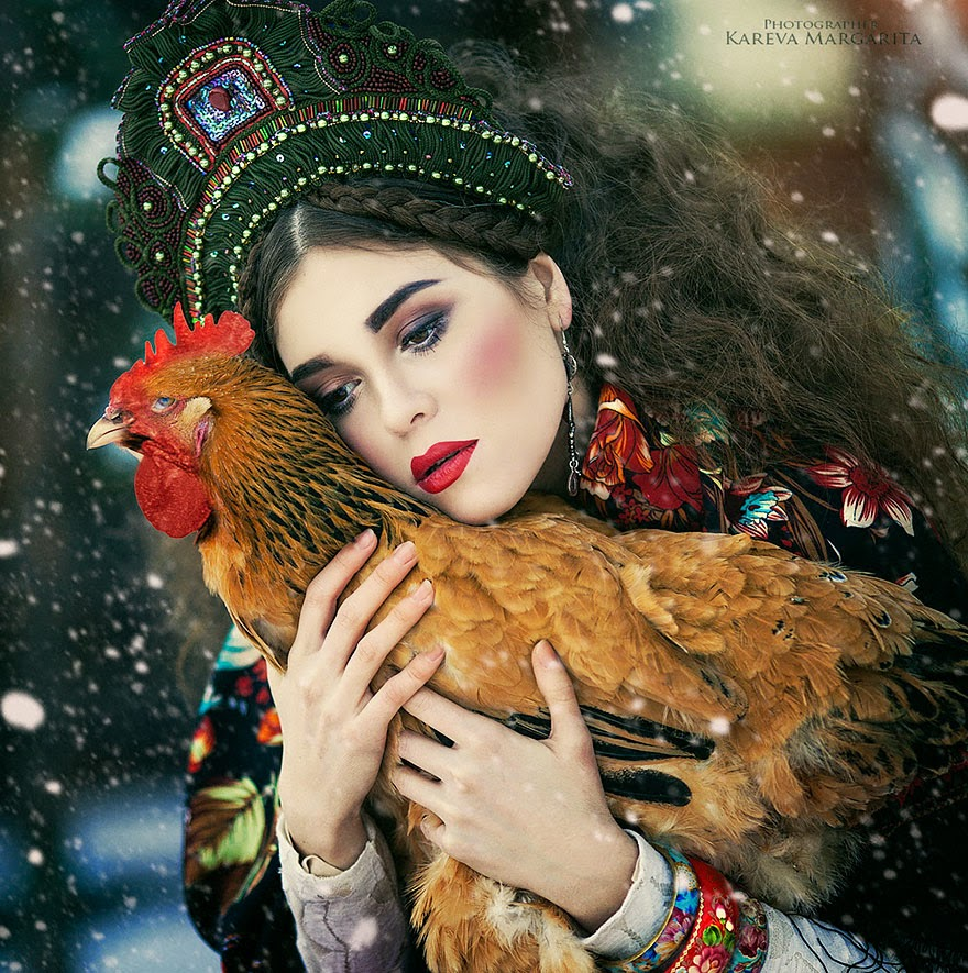 fantasy photography by margarita kareva - russian style
