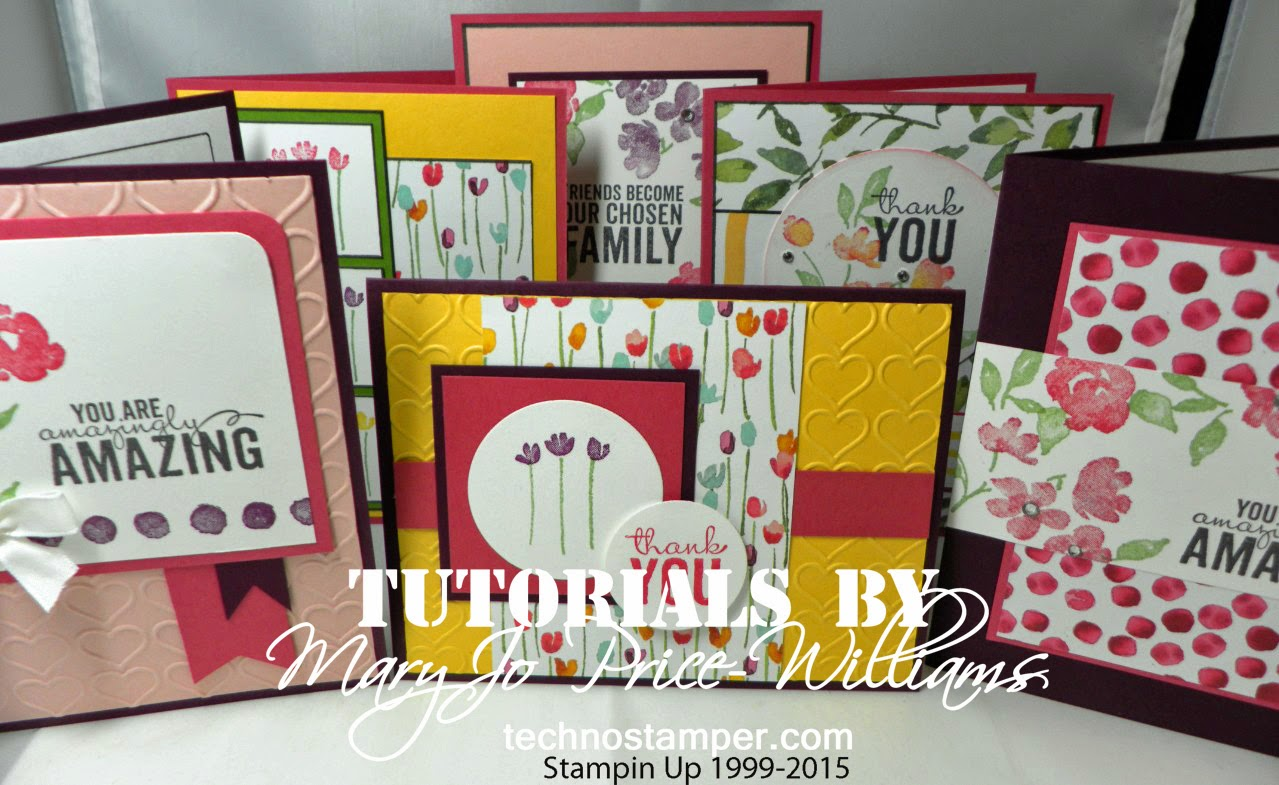 Painted Petals Card Set Tutorial