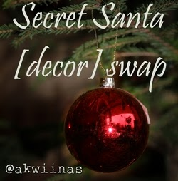 secret santa [decor] swap