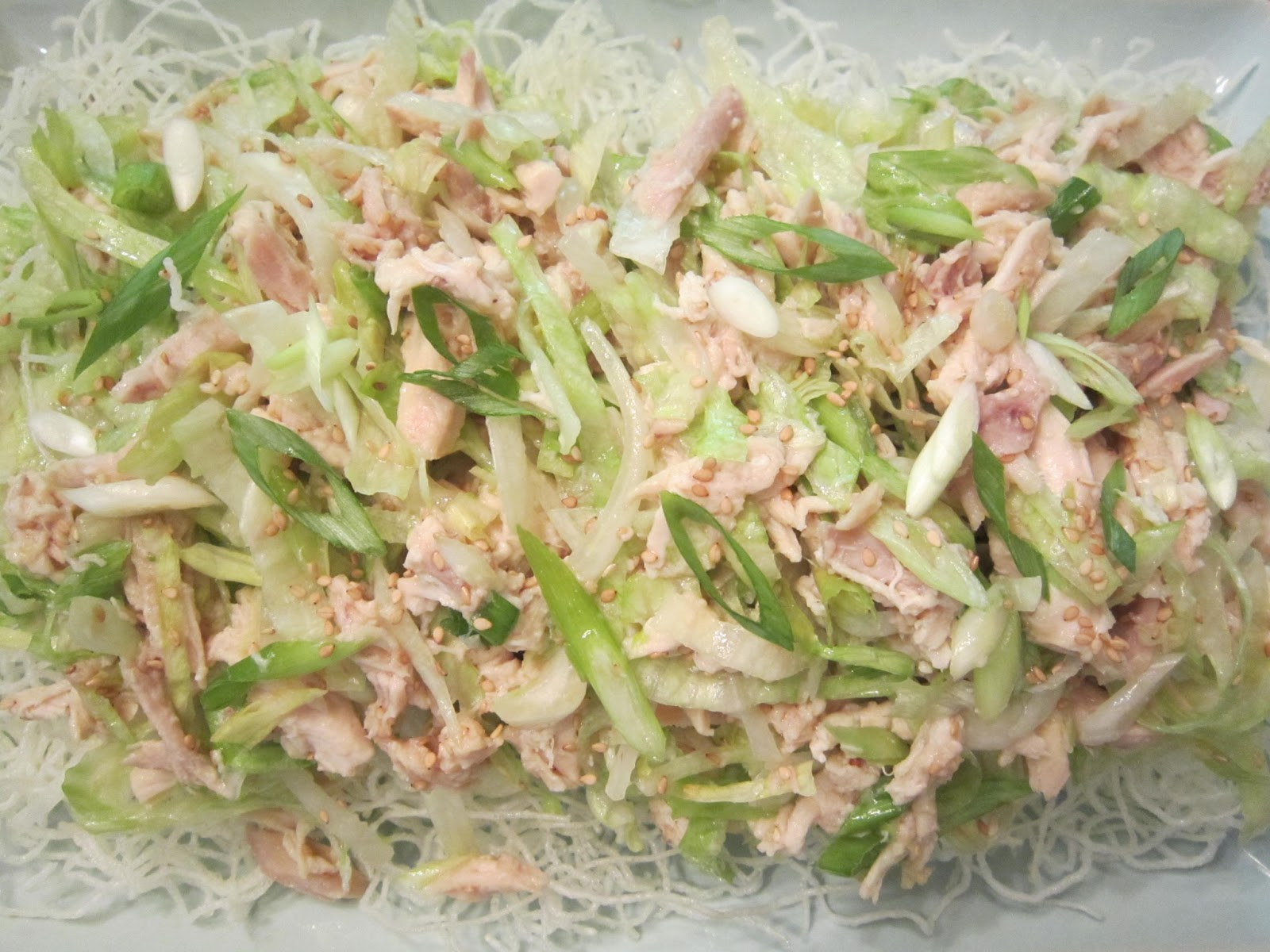 Dinner Night: Chill with Chinese Chicken Salad!