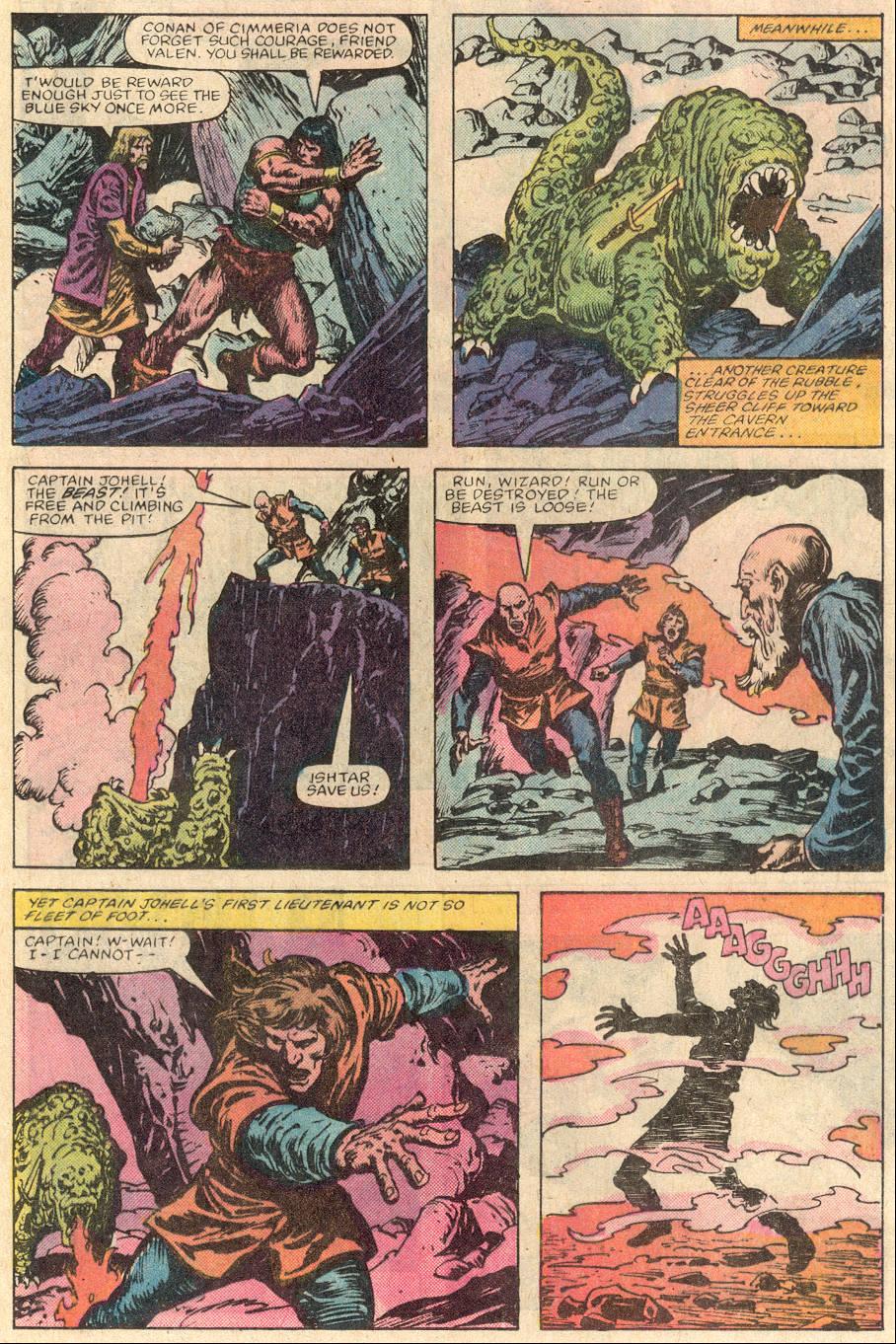 Conan the Barbarian (1970) Issue #144 #156 - English 12