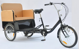Rickshaw With Pedicab 6 Gear Shimano