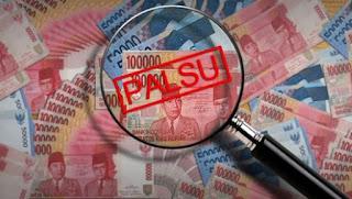 uang palsu ini akan di sebar luaskan ke masyarakat menjelang berlangsungnya pemilihan kepala daerah atau pilkada serentak