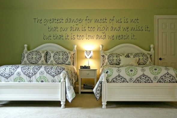 Quotes love life for Interior design bedroom quotes