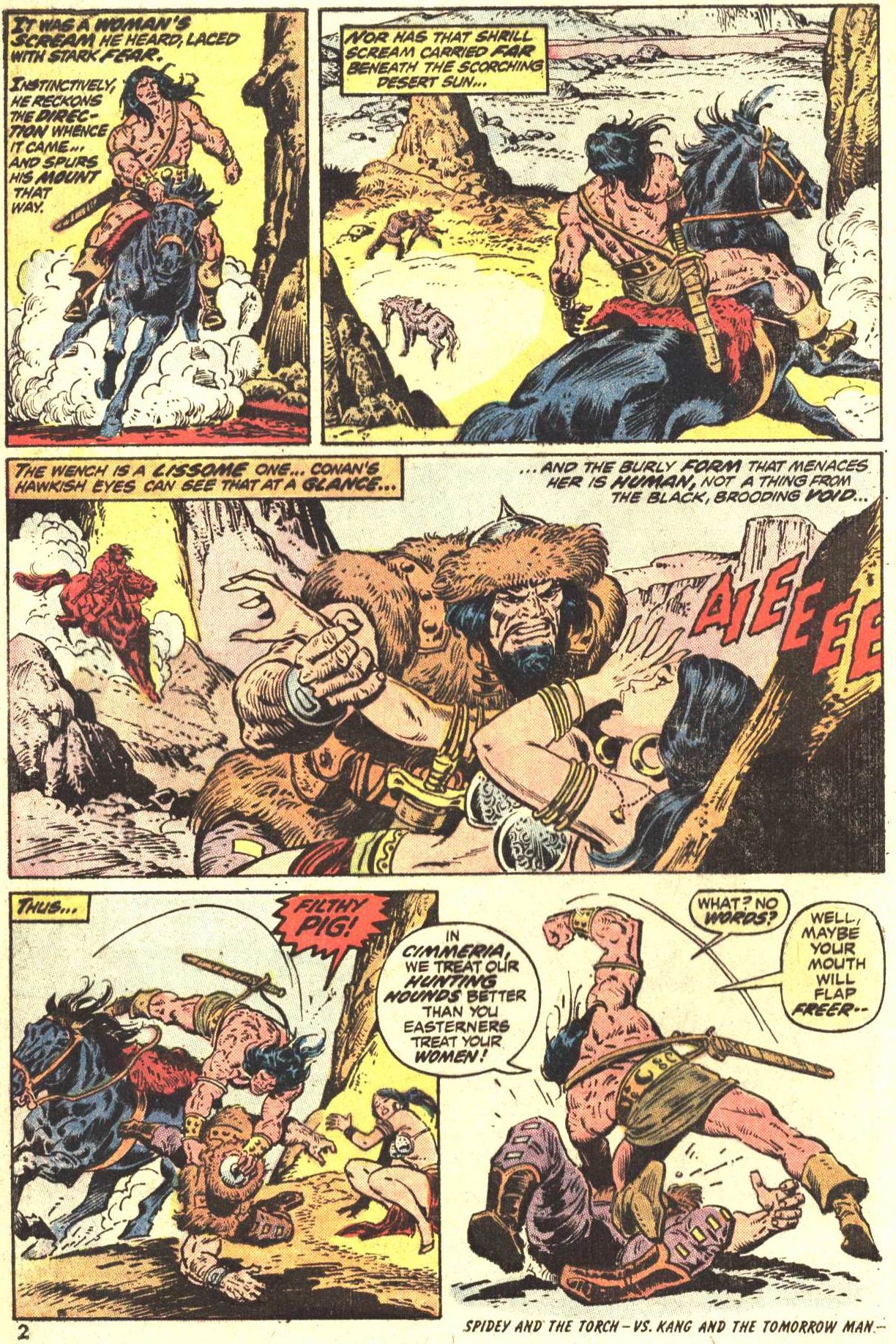Conan the Barbarian (1970) Issue #27 #39 - English 3