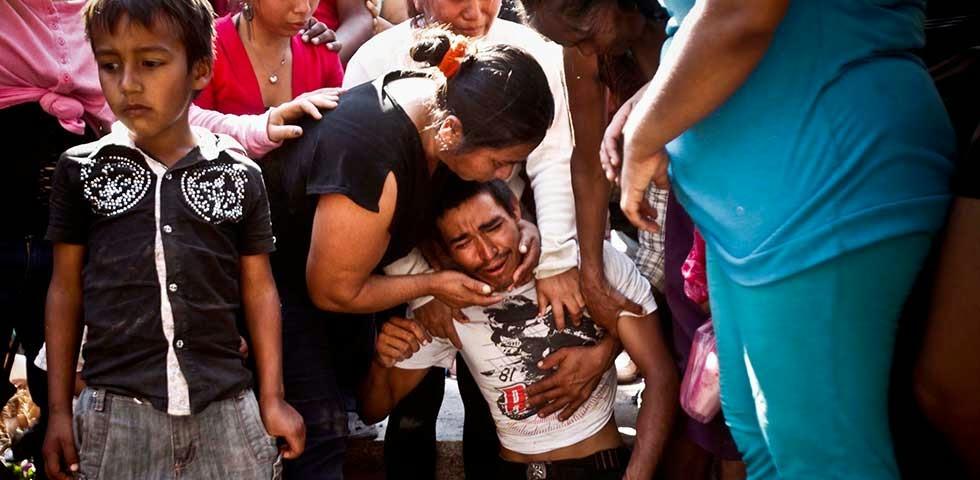 Michoacan Bajo Fuego.  Fotogaleria.  Las Victimas de Paracuaro 02