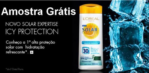 Amostra Gratis Protetor solar L'Oréal Solar Expertise