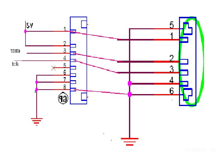 8pin on laptop repair diagram