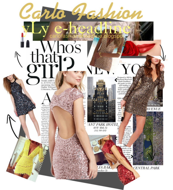 carlo fashion yLy sequin party girl