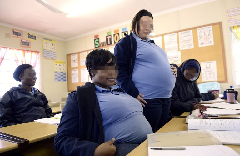 Special School For Pregnant South African Girls