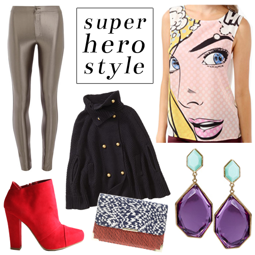 StyleAndPepperBlog.com : : 5 Under $50 // Super Hero Style