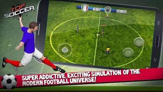 Top Soccer Android Futbol Oyunu resimi 1