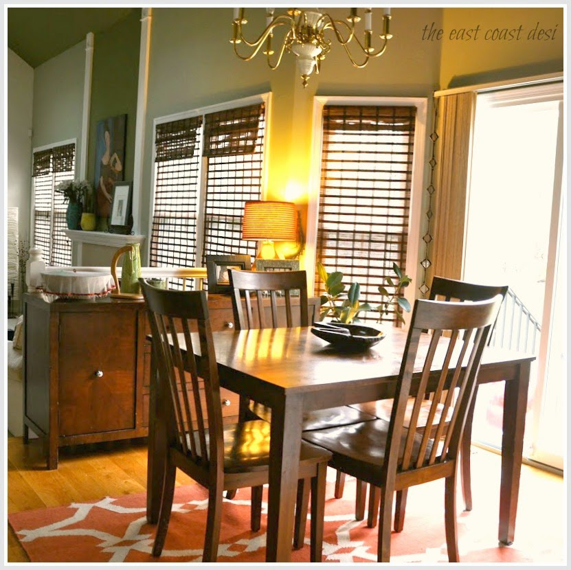 Crate And Barrel Desi Rug: The East Coast Desi: Living In Color (Home Tour